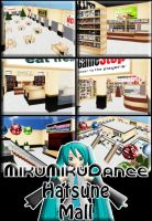 MMD HATSUNE MALL DOWNLOAD by SachiShirakawa