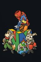 Starfox Team by ribbledude
