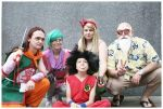 Dragonball Cosplay Group MCM Expo 2014 by Creative-Connection