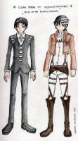 Rivaille ft. Death the Kid by kyouren