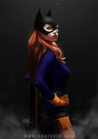 Bat Girl by SourAcid