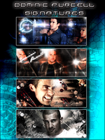 Dominic Purcell Signatures by Gillfeesh