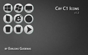 Cry C1 Icons by EGudenas