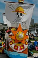 OnePiece Thousand Sunny inreal life by NamiTheQueen13
