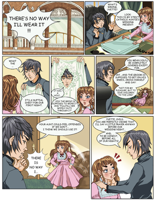 The wedding sheet preview by neko-productions
