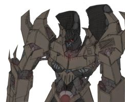 Lord Megatron v2 Colored by Ra88