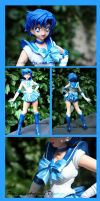 Sailor Mercury GK Repaint by PaulineFrench