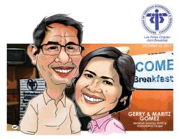 Gerry and Maritz by INGGO