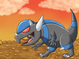 pokeddexed challenge: rampardos by megadrivesonic