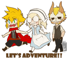 Let's Adventure!! by PiruuPi