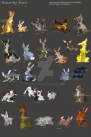 Watership Down Characters by JB-Pawstep