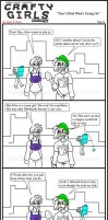 Minecraft Comic: CraftyGirls Pg 34 by TomBoy-Comics