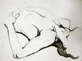 Reclining, Male Figure by lovetoast