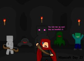 Minecraft Day 23: Growth by MisoSoup247