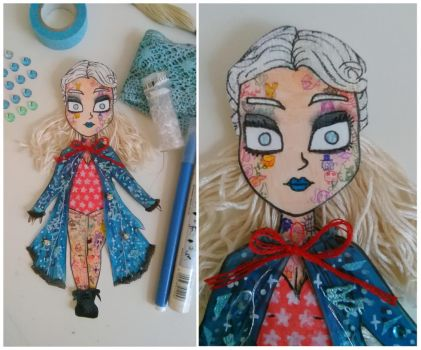 Illustrated Woman:  Paper Doll #1 by jimmyoOO