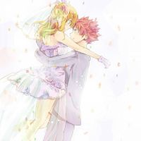 Fairy Tail - NaLu Mariage by fairyinu-chan