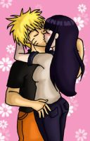 NaruHina Fluff by jewelschan