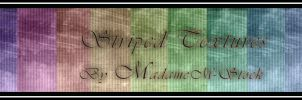 11 Striped Textures by MadameM-stock