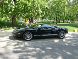 Ford GT right view by Mate397