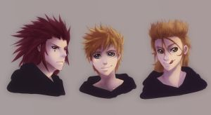 AxelRoxasDemyx are Back! by cherlye