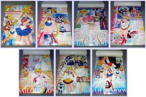 Sailormoon World 2001 Calendar by kuroitenshi13