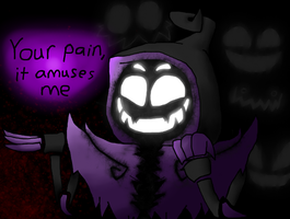 Your Pain Amuses Nightmare (Gift) by NazFro24-2
