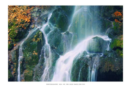 The waterfall of Lillafured - I by DimensionSeven