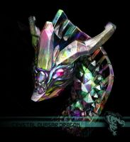 Crystal Quasar Dragon by CBSorgeArtworks
