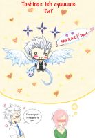 Toshiro Fangirlism X3 by theeighthdeadlysin