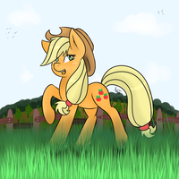 Applejack by Akashasi