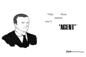 Agent Coulson by drakeweaver