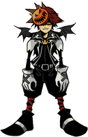 Sora- Nightmare outfit by dazz-dude