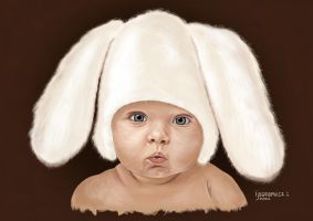 Easter Bunny by ijographicz