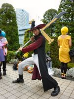 COMIKET 2012 - Mihawk by TheBurningWitch
