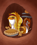 -AT- A fine day for Pie by HitMeWithBrokenLeave