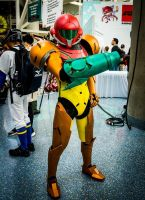 Samus Aran - Anime Expo 2015 by d-slim
