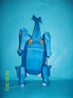 heracroos papercraft by rafex17