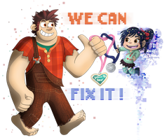 Wreck-It Ralph - We Can Fix It! by ZeTrystan