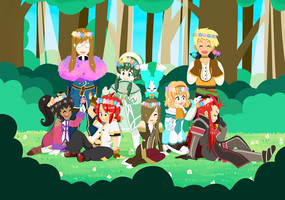 Tales of the Abyss by Arche-JoIyO