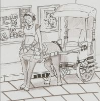 Centaur Taxi by ControlledChaotic