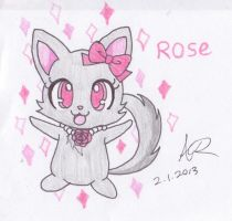 JewelPets: Rose by AshRob89