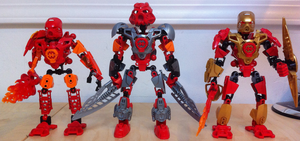 Toa Tahu Teamup Time! by HaroldPotter