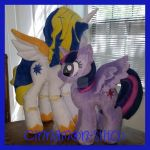 mlp plushie commissions are OPEN by CINNAMON-STITCH