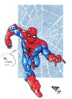 Spidey for Alvin by guillomcool