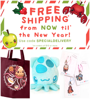 Holiday 2013 Sales + FREE SHIPPING~ by inki-drop