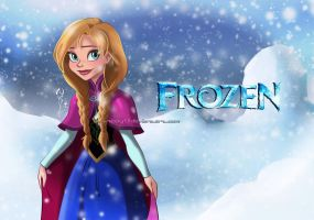 Disney's Frozen-Anna 01 by Nippy13