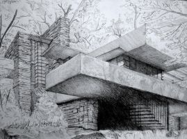 Fallingwater by BluPaint