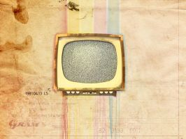 Vintage TV wallpaper by desize1996