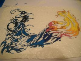 FF 10 in painted chocolate by doubleohsquee