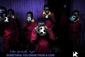 Something you drink from cow 1 by shawkash